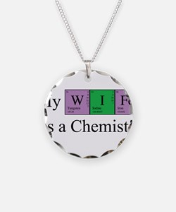 My Wife is a Chemist Necklace