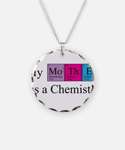 My Mother is a Chemist Necklace Circle Charm