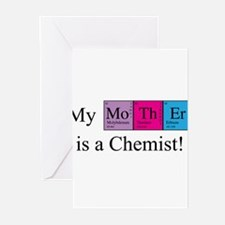 My Mother is a Chemist Greeting Cards (Pk of 10)