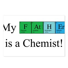 My Father is a Chemist Postcards (Package of 8)