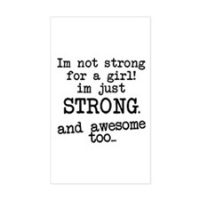 Just strong...and awesome Decal