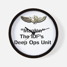 Maglan Unit Wall Clock