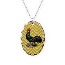 Rooster Chevron Necklace