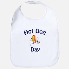 Hotdog Day Bib