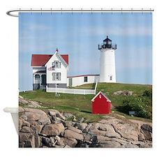 Nubble Light Shower Curtain