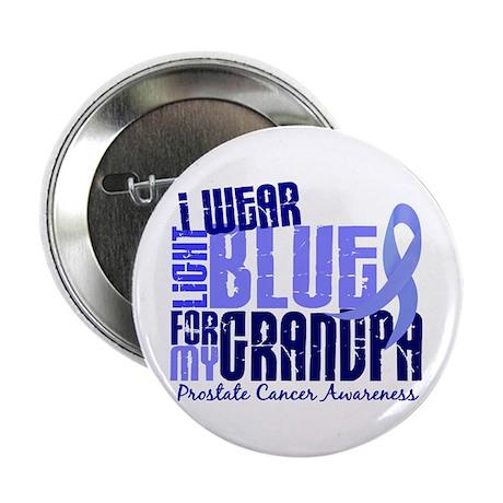 "I Wear Light Blue 6.4 Prostate Cancer 2.25"" Button"