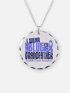 I Wear Light Blue 6.4 Prostate Cancer Necklace