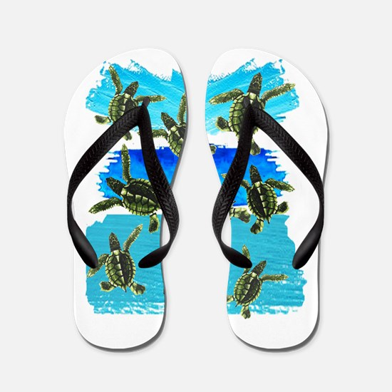 THE NEW WORLD Flip Flops