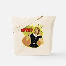 WTF? Retro humor Tote Bag