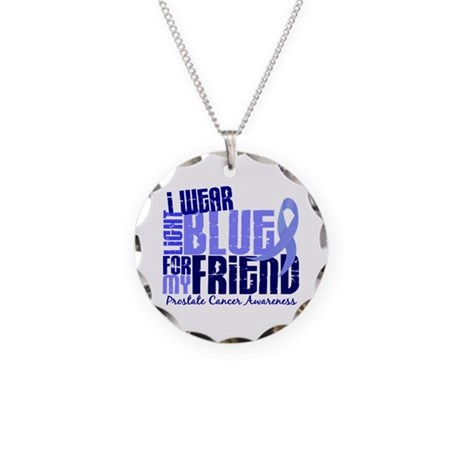 I Wear Light Blue 6.4 Prostate Cancer Necklace Cir