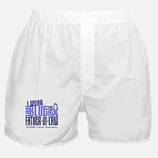 I Wear Light Blue 6.4 Prostate Cancer Boxer Shorts