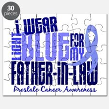 I Wear Light Blue 6.4 Prostate Cancer Puzzle