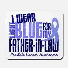 I Wear Light Blue 6.4 Prostate Cancer Mousepad