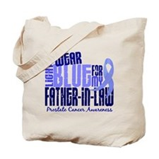 I Wear Light Blue 6.4 Prostate Cancer Tote Bag