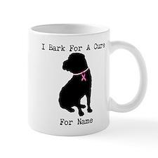 Shar Pei Personalizable I Bark For A Cure Mug