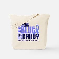 I Wear Light Blue 6.4 Prostate Cancer Tote Bag