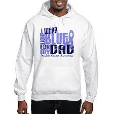 I Wear Light Blue 6.4 Prostate Cancer Hoodie