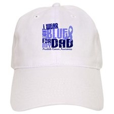 I Wear Light Blue 6.4 Prostate Cancer Baseball Cap
