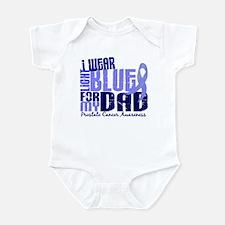 I Wear Light Blue 6.4 Prostate Cancer Infant Bodys