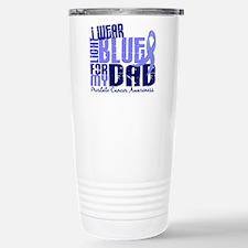 I Wear Light Blue 6.4 Prostate Cancer Travel Mug