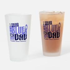 I Wear Light Blue 6.4 Prostate Cancer Drinking Gla