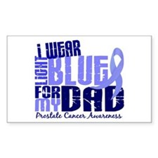 I Wear Light Blue 6.4 Prostate Cancer Decal