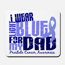 I Wear Light Blue 6.4 Prostate Cancer Mousepad