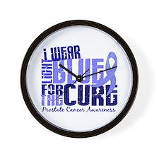 I Wear Light Blue 6.4 Prostate Cancer Wall Clock