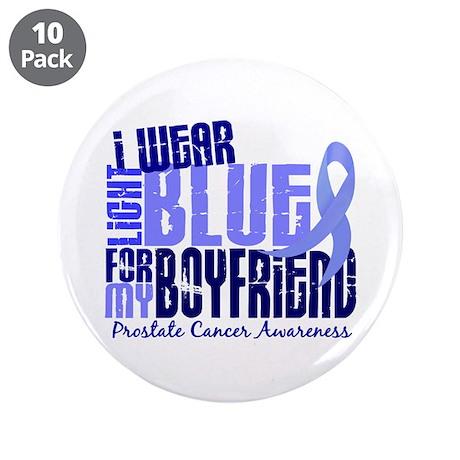"I Wear Light Blue 6.4 Prostate Cancer 3.5"" Button"