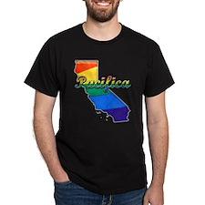 Pacifica, California. Gay Pride T-Shirt