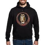 Celtic Owl Hoodie (dark)