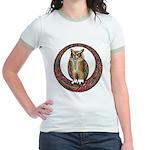 Celtic Owl Jr. Ringer T-Shirt