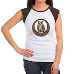 Celtic Owl Women's Cap Sleeve T-Shirt