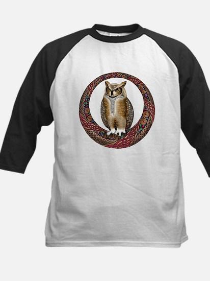 Celtic Owl Kids Baseball Jersey