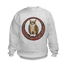 Celtic Owl Sweatshirt