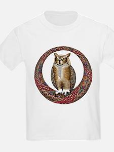 Celtic Owl T-Shirt