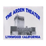 Arden Theater Throw Blanket