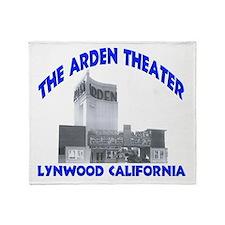 Arden Theater Throw Blanket