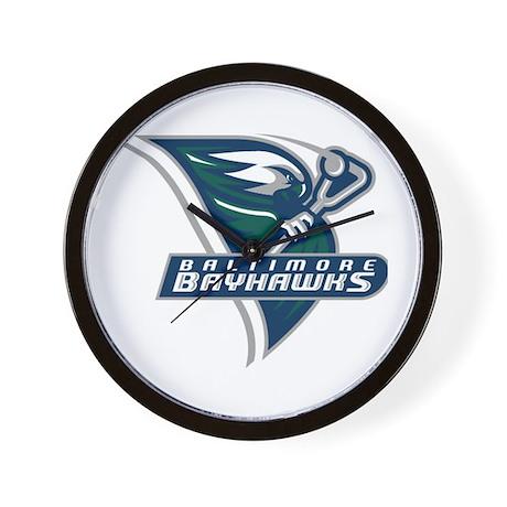 Bayhawks Wall Clock