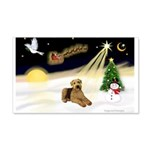 Night Flight/Airedale #5 22x14 Wall Peel