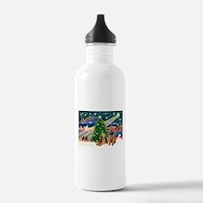 XmasMagic/Airedale Water Bottle