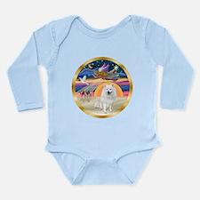XmasStar/Am Eskimo #1 Long Sleeve Infant Bodysuit
