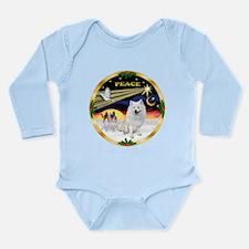 XmasDove/Am Eskimo Long Sleeve Infant Bodysuit