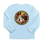 Santa's Am Eskimo #5 Long Sleeve Infant T-Shirt
