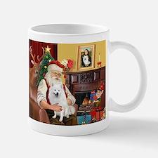 Santa's Eskimo Spitz Mug