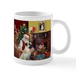 Santa/Anatolian Shep Mug
