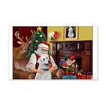 Santa & Anatolian 22x14 Wall Peel