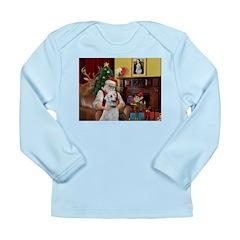 Santa & Anatolian Long Sleeve Infant T-Shirt