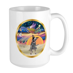 XmasStar/Cattle Dog Mug
