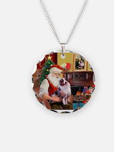 Santa's Aussie (#1) Necklace